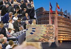 Průvodce platy europoslanců a zákulisím Evropského parlamentu