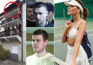 Modelka, která svědčila v procesu s fotbalisty, vypadla z balkonu ve Špindlu: Není jediný svědek, tvrdí policie