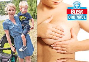 Na prevenci kvůli obávané rakovině prsu dbá i herečka Michaela Sejnová.