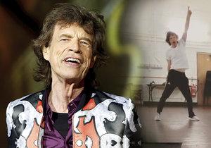 Mick Jagger (75) ze Stounů měsíc po operaci srdce zase řádí! Tancuje jako mladík.