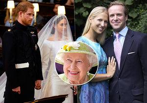 Rok po Harrym a Meghan další královská svatba! »Česká« princezna vdává dceru.