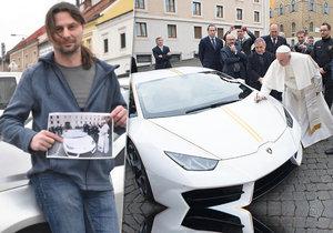 """Od papeže má dostat luxusní """"Lambo"""": To ale ještě vůbec neviděl"""