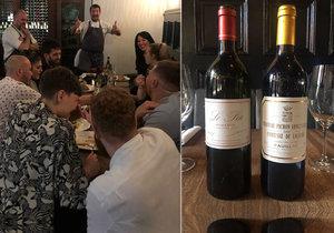 Jeden ze zaměstnanců manchesterské restaurace Hawksmoor hostům omylem rozlil láhev vína za 132 tisíc