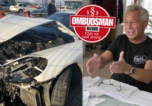 Václav Křesina (62): Boj s pojišťovnou o zničené porsche