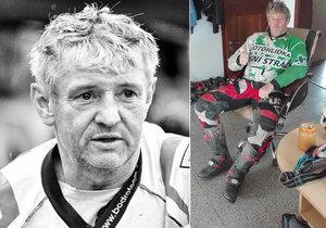 Poslední rozloučení s legendárním závodníkem z Dakaru: »Přijeďte na motorkách, ať mu vzdáme hold tím, co nejvíc miloval,« vyzývají motorkáři