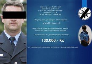 Policista Vladimír se zastřelil kvůli vyšetřování GIBS: Pro vdovu vybrali 130 tisíc