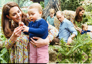 Princ William a vévodkyně Kate řádili s dětmi v zahradnictví.