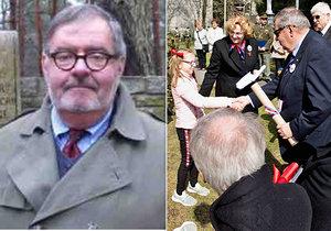 Kanaďan (74) přijel do Česka uctít památku válečného hrdiny: Začal krvácet do mozku a upadl do kómatu