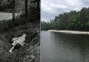 Tělo Jany Tokárové (†12) našli náhodní kolemjdoucí v Třemošenském rybníce v Plzni (vlevo ilustrační foto)