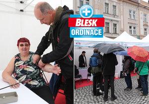 Blesk Ordinace léčila tentokrát v Hradci: V dešti pršely cenné rady