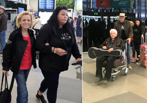 Krampolovi doma z Afriky: On opět na vozíku, ona po svých.