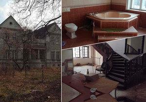 Luxusní vila i spozemkem za 5 milionů: Na prodej je dům snádechem smrt