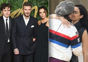 Beckham se v Cannes nemohl odlepit od neznámé brunetky! Mazlení a líbání nebralo konce!