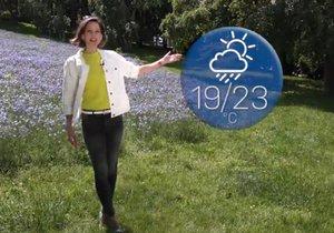Předpověď počasí s Dagmar Honsovou
