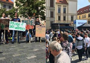 """Demonstrace majitelů barů kvůli vyhlášce: """"Doufám, že regulace nebude potřeba,"""" řekl primátor"""