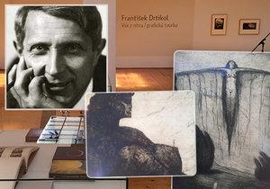 Obrazy, které 100 let nikdo neviděl: V Praze vystavují Drtikolovy unikáty