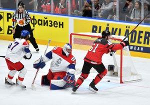 Češi podlehli Kanadě a zahrají si jen o bronz