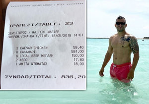 Turistům v Řecku naúčtovali 21 tisíc za malou večeři: Obvinění z podvodu majitel odmítá
