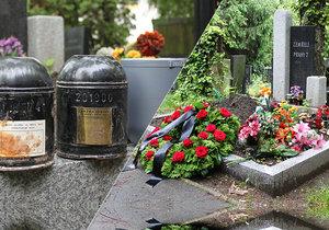 Sociální pohřeb v Praze 7, kde pochovali i manžele Karla a Marii, kteří zemřeli v letech 1965 a 1985.