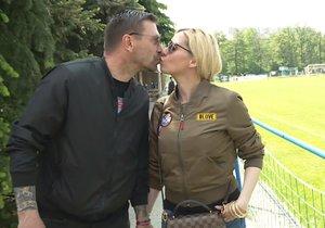 Tomáš Řepka s Kateřinou Kristelovou poskytli krátce před nástupem do vězení rozhovor televizi Prima.