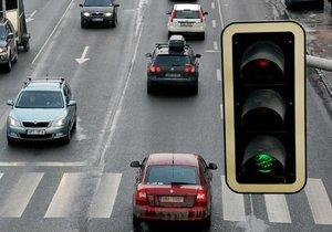 Břeclav vyzkouší blikající zelenou na semaforech. Ilustrační foto