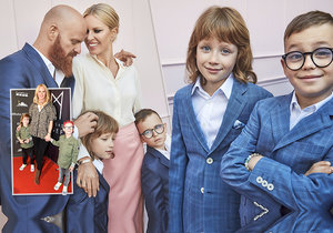 Simona Krainová má krásnou rodinu