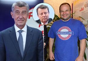 Premiér Andrej Babiš (ANO) promluvil o vládní výměně Antonína Staňka za Michala Šmardu (oba ČSSD)