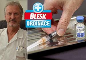 Primář infekčního oddělení Slezské nemocnice v Opavě zdůrazňuje důležitost očkování.