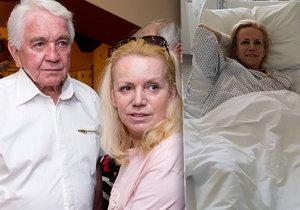 Krampol u manželky v nemocnici: Navrhl jí radikální řešení! Musí to chápat, řekl