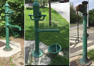 Po celé Praze může být až 300 starých ručních pump. Některé městské části jim opět dávají život.