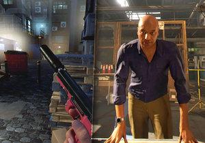 Blood & Truth pro PlayStation VR je povedená střílečka. Škoda, že není delší.