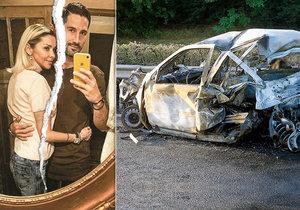 Vypadá to, že se Eva Varholíková-Rezešová, která na maďarské dálnici zabila 4 lidi, a její přítel Matěj rozešli.