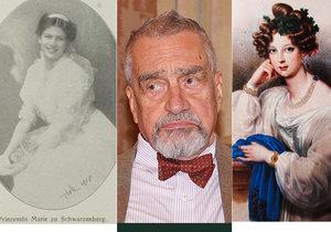 Prokletí předčasných úmrtí šlechtičny Schwarzenbergů pronásleduje již po několik staletí (7. 6. 2019)