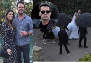Svatba hvězdy Avengerů s dcerou Terminátora Schwarzeneggera: Ženich pozval i exmanželku!