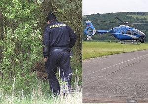 Vrtulník s termovizí hledá penzistu Čestmíra (85): V sobotu se vydal na bylinky a nevrátil se domů
