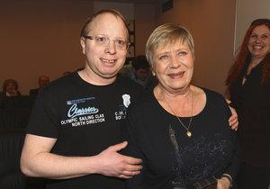 Jaroslava Obermaierová se synem