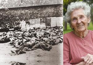 Ludmila Cábová přežila vyhlazení Lidic i koncentrační tábor.