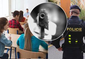 Policie v Praze posiluje dohled u škol.