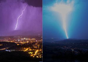 Na Česko udeřily silné bouřky. Po pondělních tropech přijdou další, sledujte radar