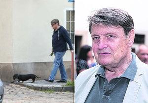 Muzikant Ladislav Štaidl: Po rozchodu zhubl a pořídil si psí slečnu.