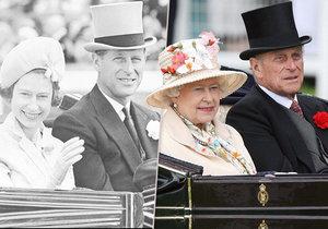 S Alžbětou II. prožil princ Philip většinu svého života.