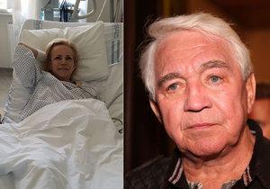Krampolovou odmítli přijmout do léčebny! Manžel Jiří je zoufalý