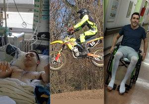 Martin skončil po nehodě na vozíčku: Životní vášeň mu zlomila páteř, prošel si peklem, ale dál bojuje.