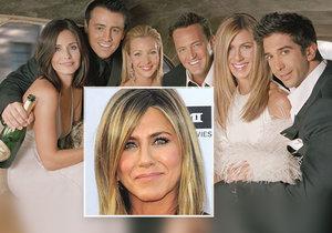 Vrátí se někdy legendární Přátelé? Anistonová alias Rachel rozčílila fanoušky seriálu!
