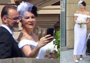 Tatiana Kovaříková se vdala