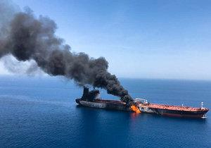 Saúdská Arábie se připojila k USA a Británii v obvinění Íránu ze čtvrtečního útoku na dva tankery v Ománském zálivu. Korunní princ Muhammad bin Salmán v rozhovoru s listem Aš-Šark al-Avsat vyzval světové společenství, aby rozhodujícím způsobem zasáhlo. Írán vinu na útocích popřel.