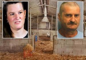 Zvrhlý únosce znásilňoval batůžkářku (26) v prasečím chlívě: Držel ji na řetězu a hrozil jí smrtí