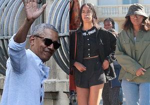 Exprezident Barack Obama s rodinou vyrazil na dovolenou do Francie.