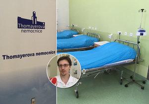 Nová klinicko-farmakologická jednotka Thomayerovy nemocnice v Praze.