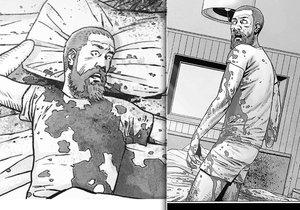 Rick Grimes v komiksu The Walking Dead zemřel.